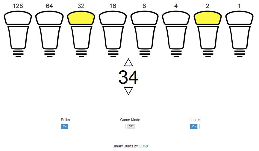 Бінарні лампочки